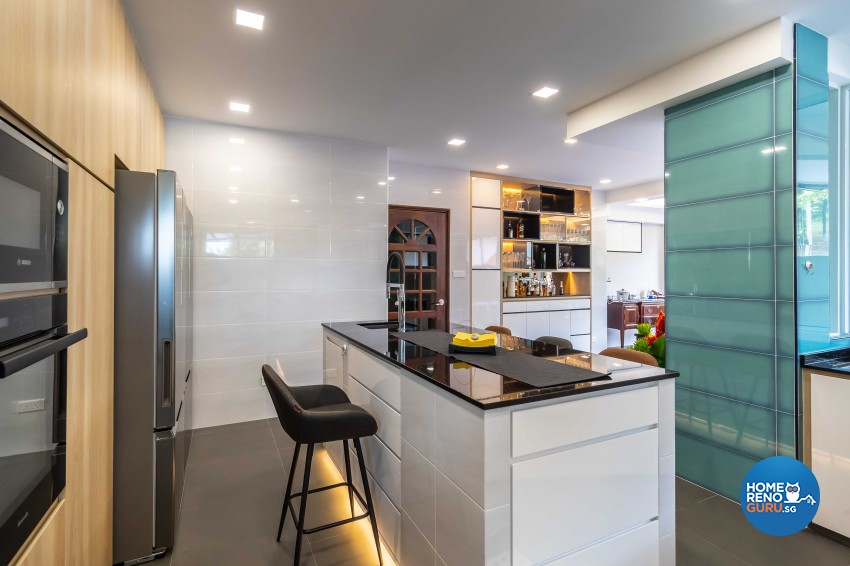 Contemporary, Modern Design - Kitchen - Landed House - Design by LOME Interior
