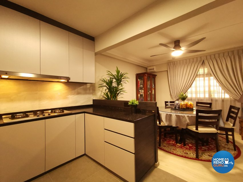 Modern, Others Design - Kitchen - HDB 5 Room - Design by LOME Interior