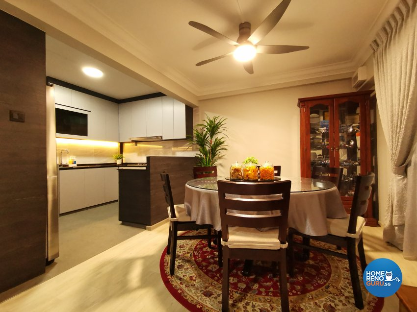Modern, Others Design - Dining Room - HDB 4 Room - Design by LOME Interior