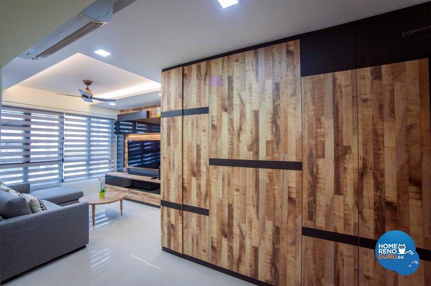 Modern, Resort, Rustic Design - Dining Room - HDB 4 Room - Design by LOME Interior