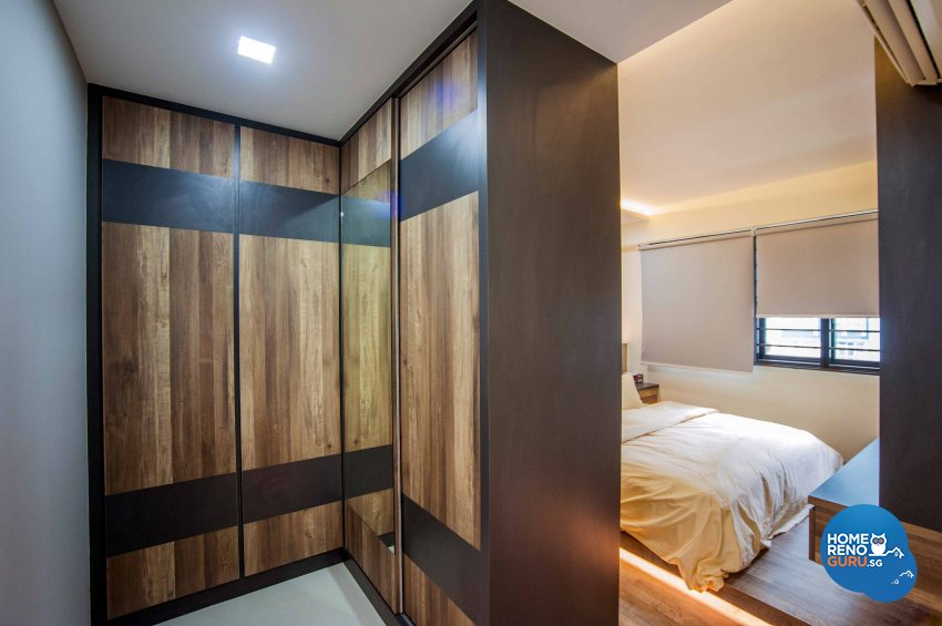 Modern, Resort, Rustic Design - Bedroom - HDB 4 Room - Design by LOME Interior
