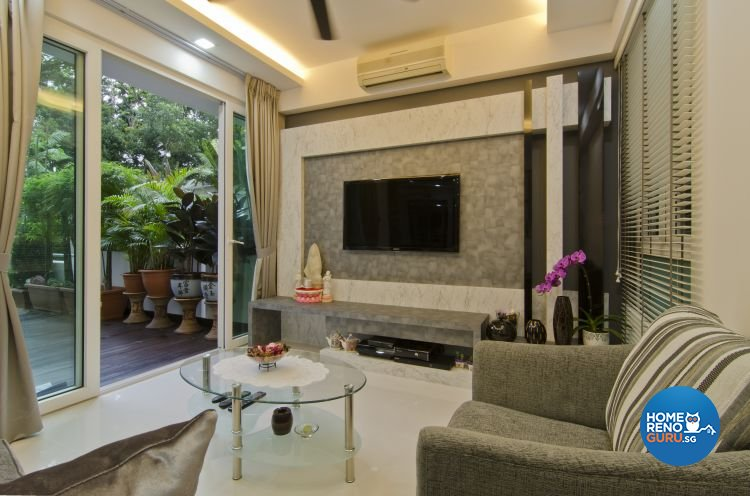 Contemporary, Modern Design - Living Room - Condominium - Design by LOME Interior