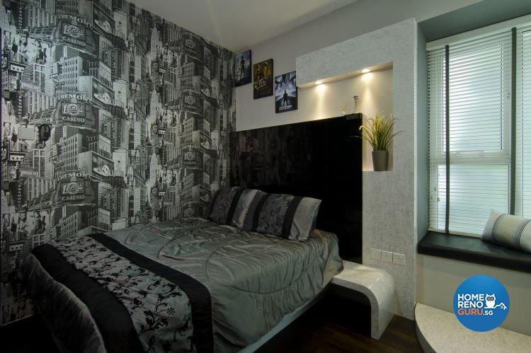 Contemporary, Modern Design - Bedroom - Condominium - Design by LOME Interior