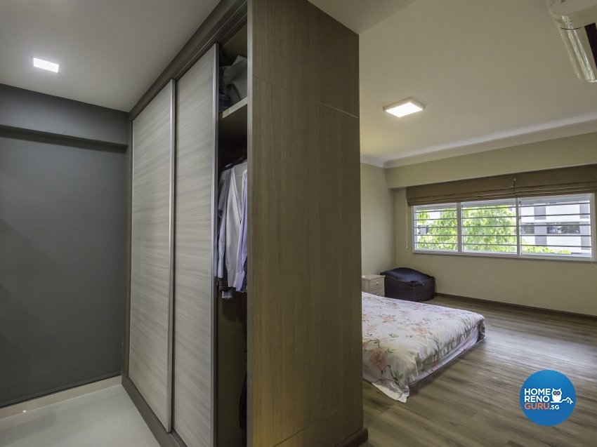 Contemporary Design - Bedroom - HDB 4 Room - Design by Luck Ann Construction and Renovation