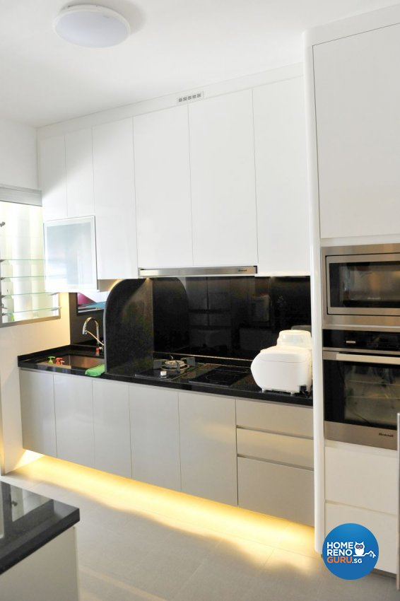 Modern Design - Kitchen - HDB 4 Room - Design by Luck Ann Construction and Renovation