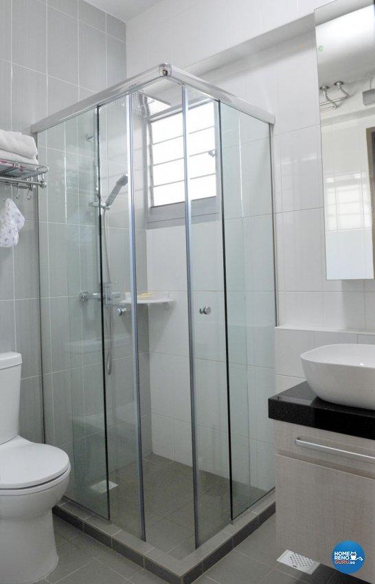 Modern Design - Bathroom - HDB 4 Room - Design by Luck Ann Construction and Renovation