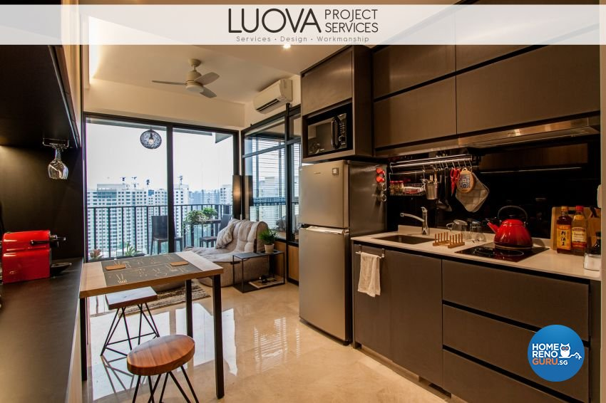 Scandinavian Design - Kitchen - Condominium - Design by Luova Project Services