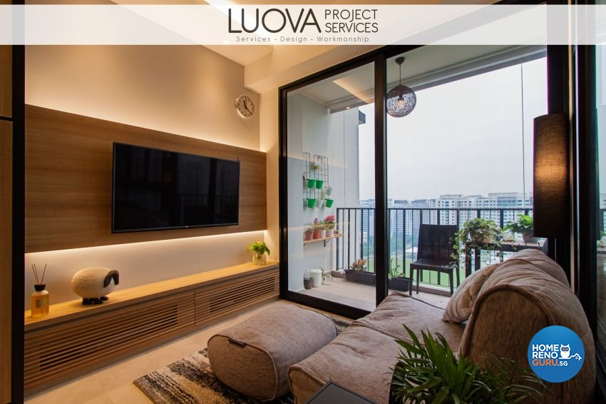 Scandinavian Design - Living Room - Condominium - Design by Luova Project Services