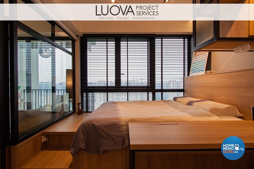 Scandinavian Design - Bedroom - Condominium - Design by Luova Project Services