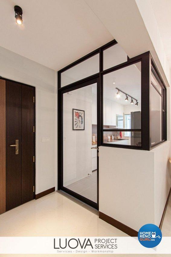 Minimalist, Scandinavian Design - Kitchen - HDB 4 Room - Design by Luova Project Services