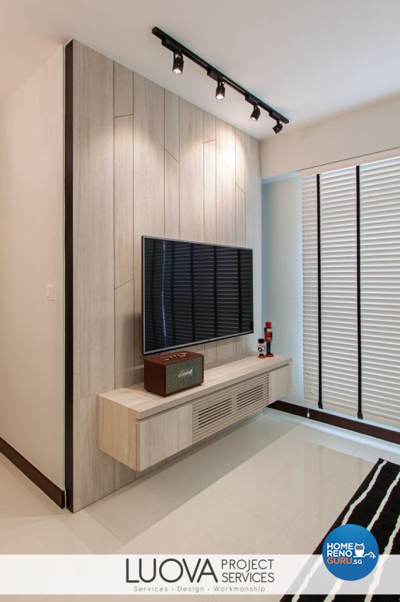 Minimalist, Scandinavian Design - Living Room - HDB 4 Room - Design by Luova Project Services