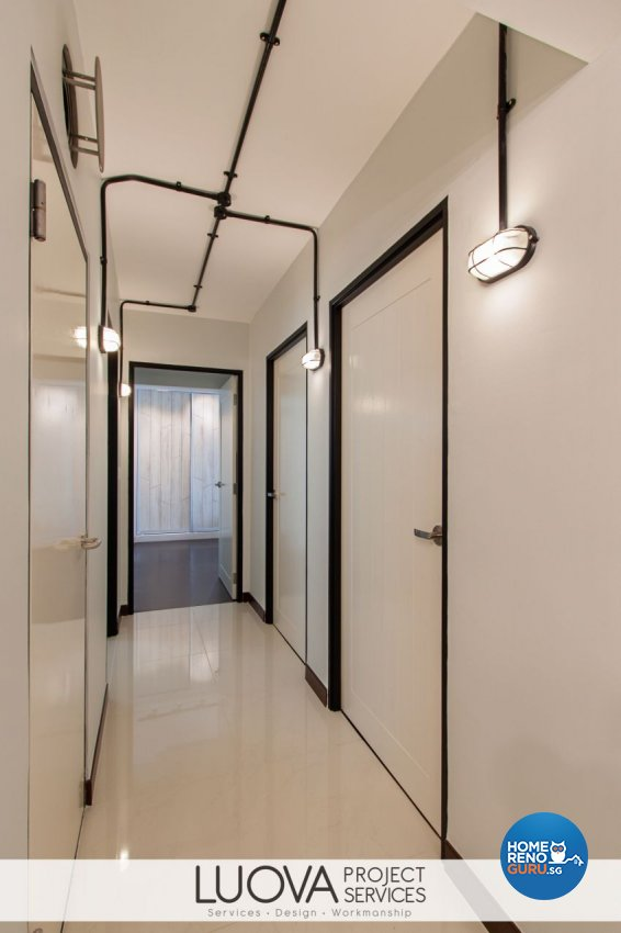Minimalist, Scandinavian Design - Bedroom - HDB 4 Room - Design by Luova Project Services