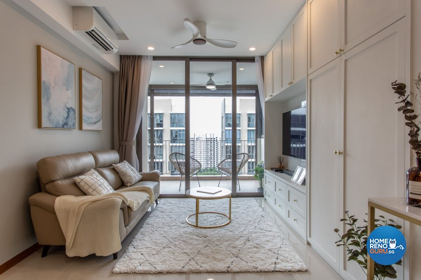 Classical Design - Living Room - Condominium - Design by Luova Project Services