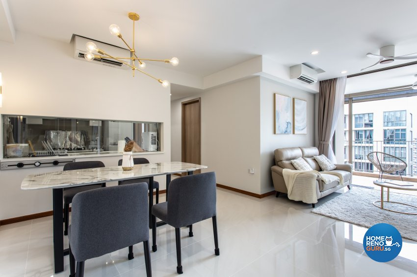 Classical Design - Dining Room - Condominium - Design by Luova Project Services