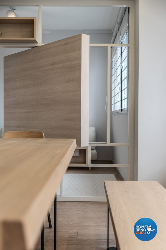 Minimalist, Modern Design - Dining Room - HDB 3 Room - Design by Luova Project Services