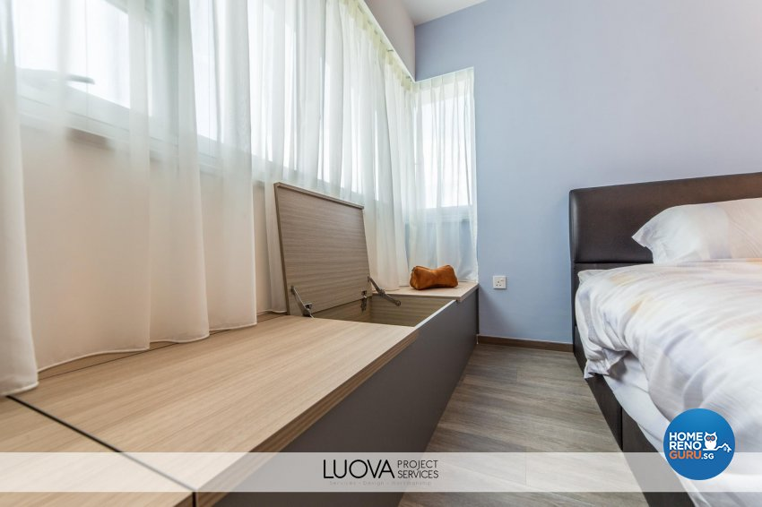 Resort Design - Bedroom - HDB 5 Room - Design by Luova Project Services