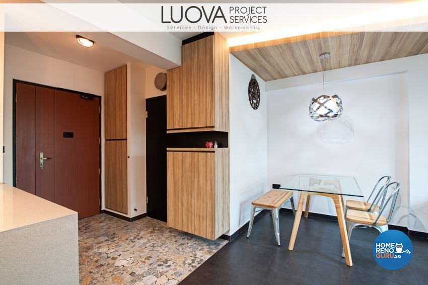 Scandinavian Design - Living Room - HDB 4 Room - Design by Luova Project Services