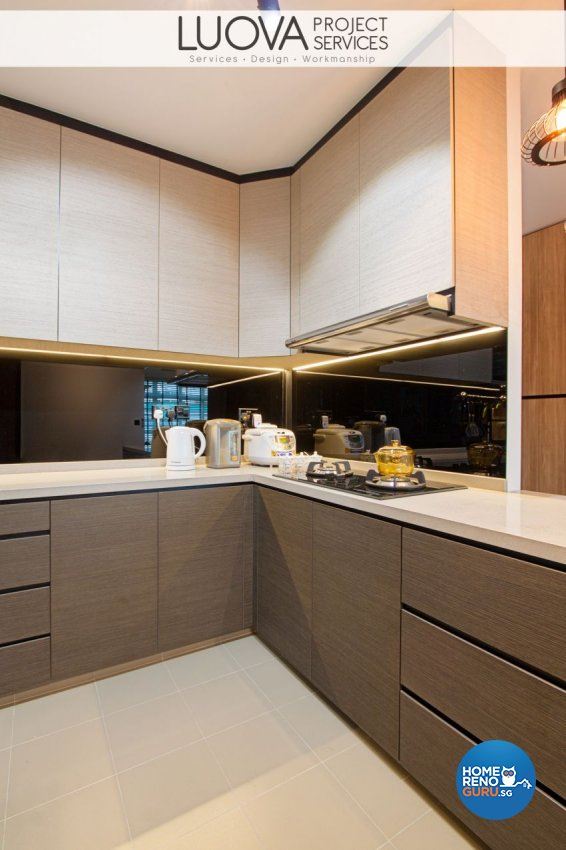 Scandinavian Design - Kitchen - HDB 4 Room - Design by Luova Project Services