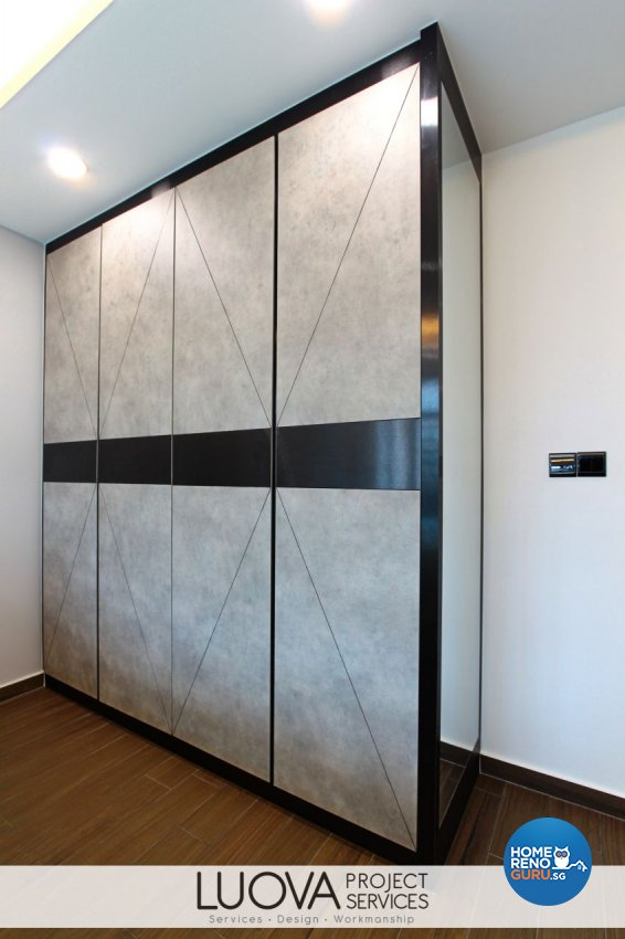 Scandinavian Design - Bedroom - HDB 4 Room - Design by Luova Project Services