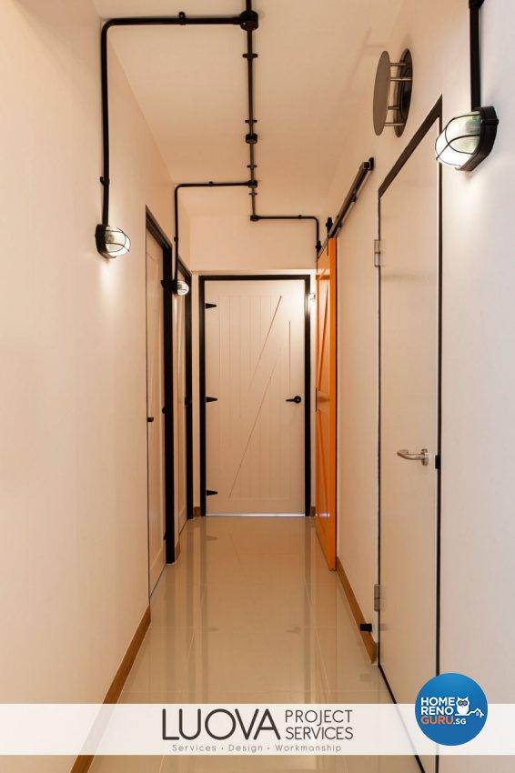 Industrial, Rustic, Scandinavian Design - Bedroom - HDB 5 Room - Design by Luova Project Services
