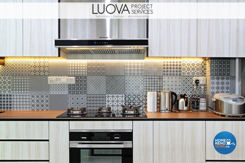 Eclectic, Scandinavian Design - Kitchen - HDB 5 Room - Design by Luova Project Services