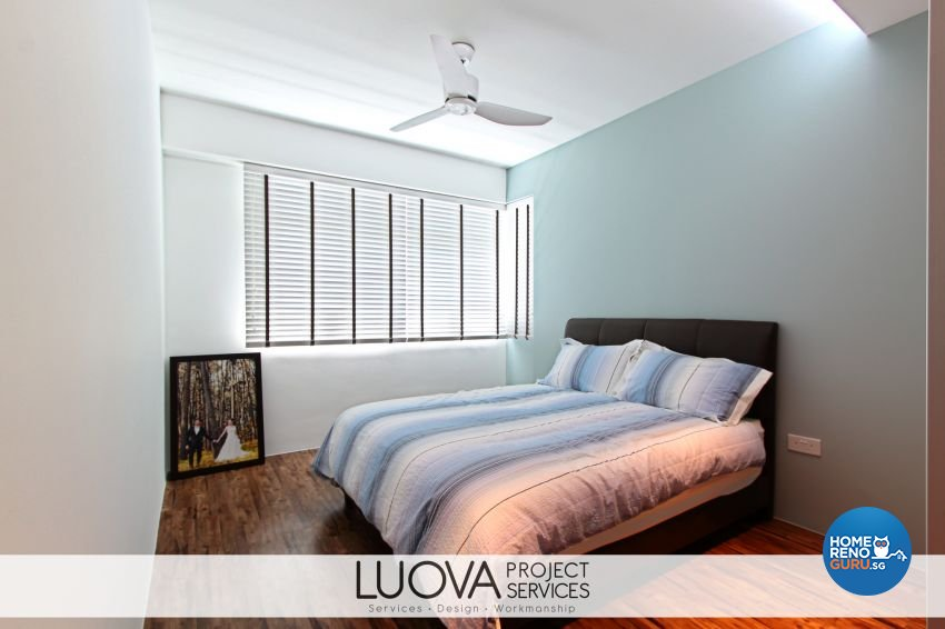 Eclectic, Scandinavian Design - Bedroom - HDB 5 Room - Design by Luova Project Services