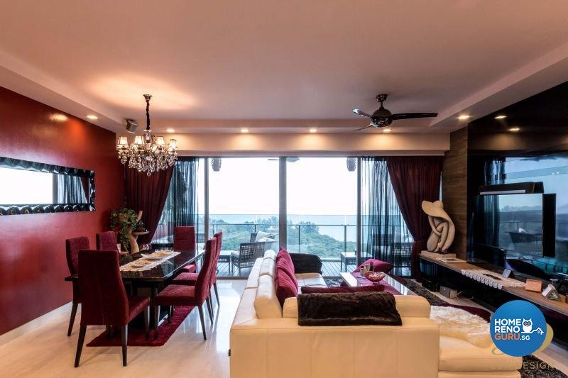 Classical, Modern Design - Dining Room - Condominium - Design by Lux Design Pte Ltd