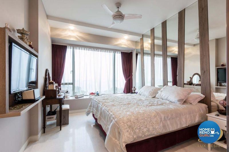 Classical, Modern Design - Bedroom - Condominium - Design by Lux Design Pte Ltd