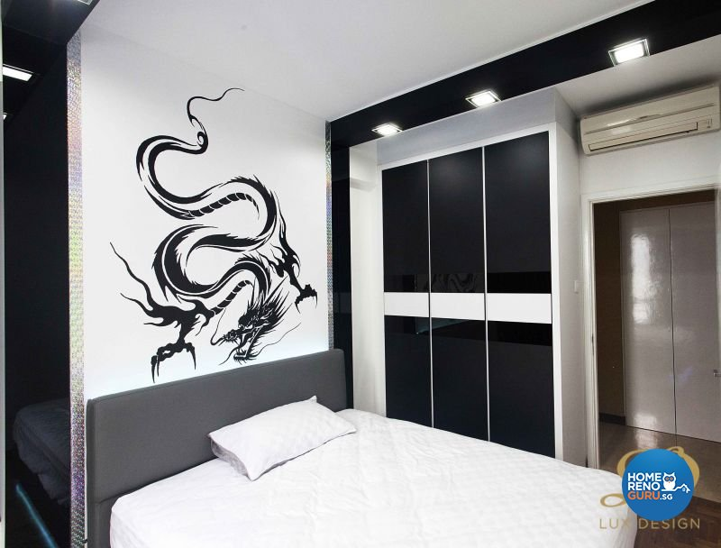 Classical, Contemporary, Modern Design - Bedroom - Condominium - Design by Lux Design Pte Ltd