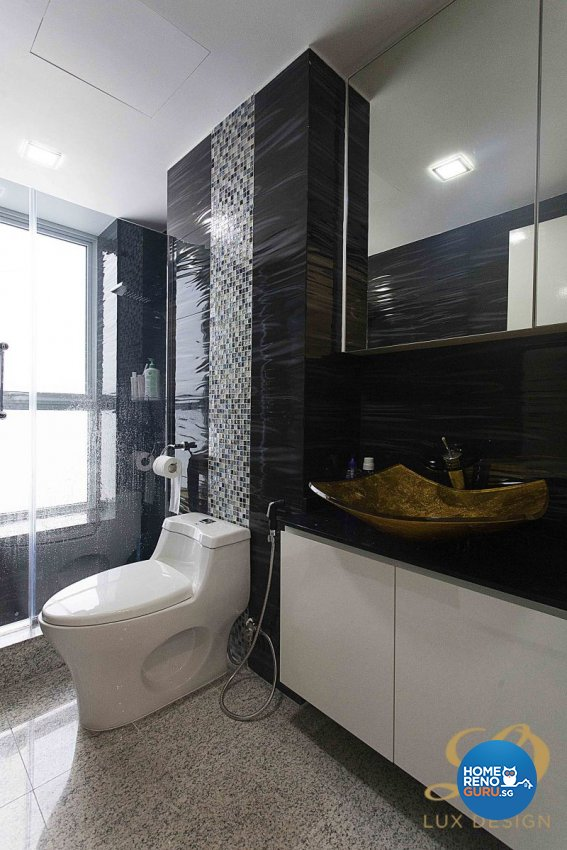 Classical, Contemporary, Modern Design - Bathroom - Condominium - Design by Lux Design Pte Ltd
