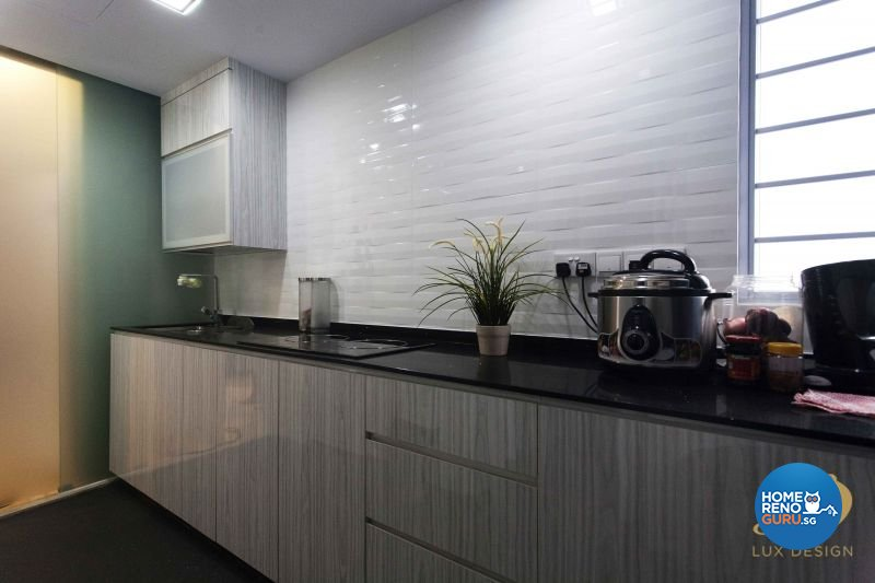 Classical, Contemporary, Modern Design - Kitchen - Condominium - Design by Lux Design Pte Ltd