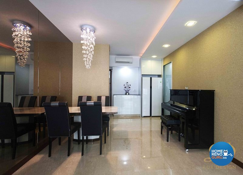 Classical, Contemporary, Modern Design - Dining Room - Condominium - Design by Lux Design Pte Ltd
