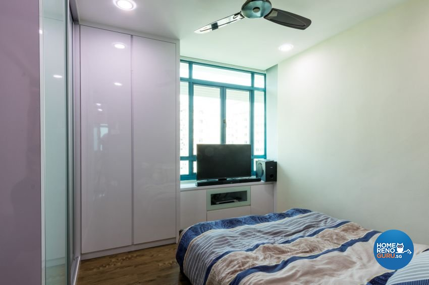 Modern Design - Bedroom - HDB 5 Room - Design by Lux Design Pte Ltd