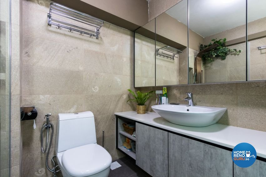 Modern Design - Bathroom - HDB 5 Room - Design by Lux Design Pte Ltd