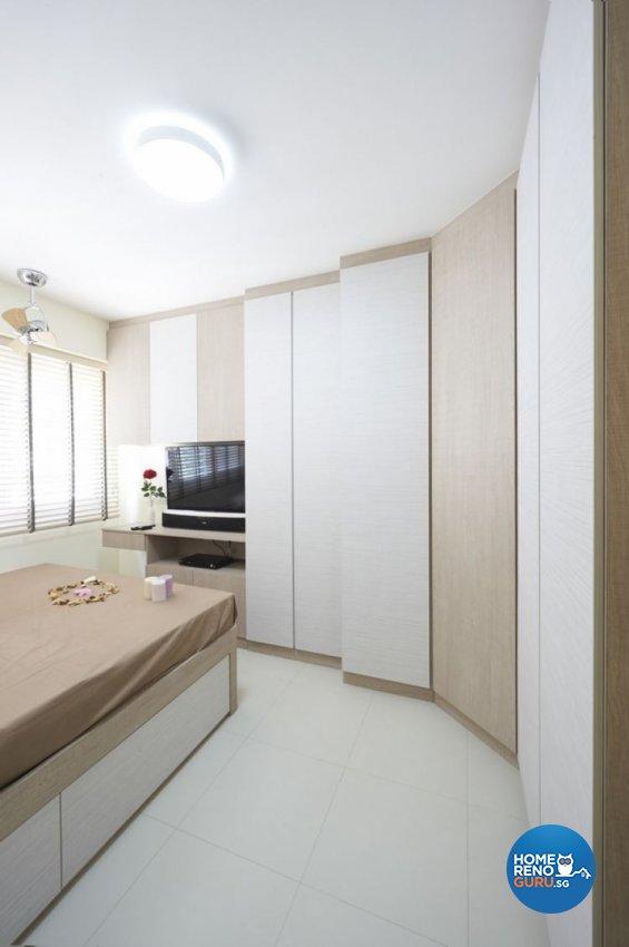 Minimalist, Modern, Scandinavian Design - Bedroom - HDB 4 Room - Design by Lux Design Pte Ltd