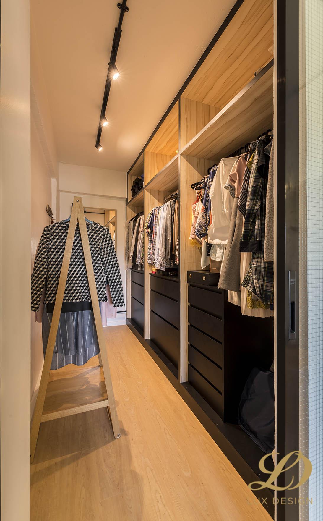 Industrial, Scandinavian Design - Bedroom - HDB 4 Room - Design by Lux Design Pte Ltd