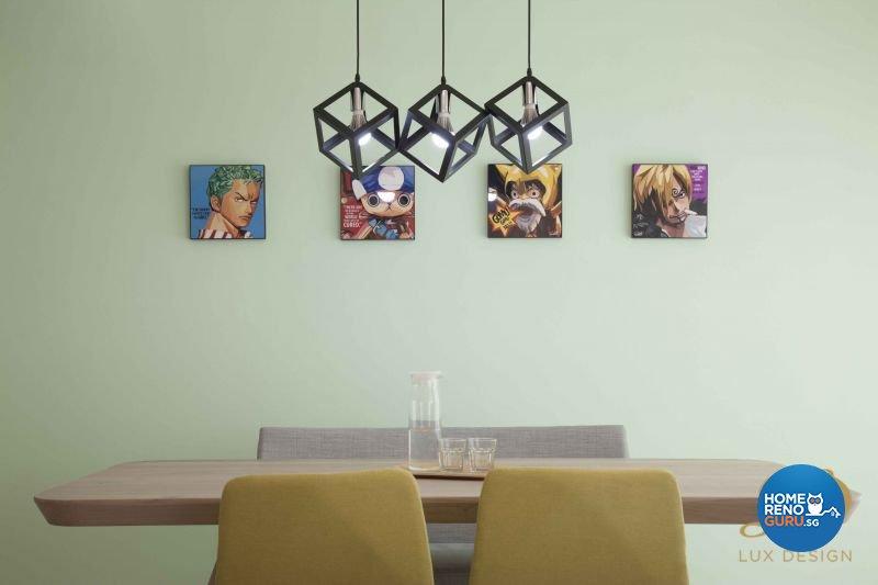 Contemporary, Scandinavian Design - Dining Room - HDB 5 Room - Design by Lux Design Pte Ltd