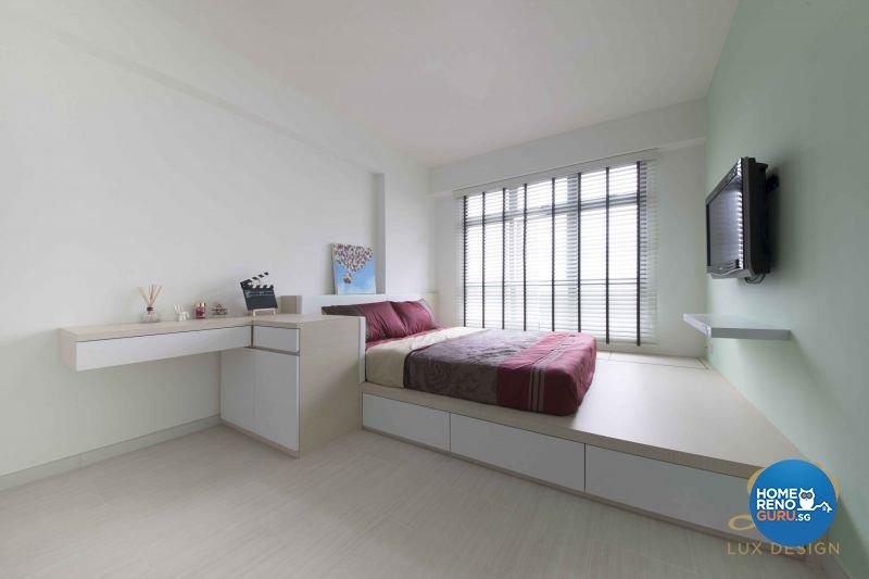 Contemporary, Scandinavian Design - Bedroom - HDB 5 Room - Design by Lux Design Pte Ltd