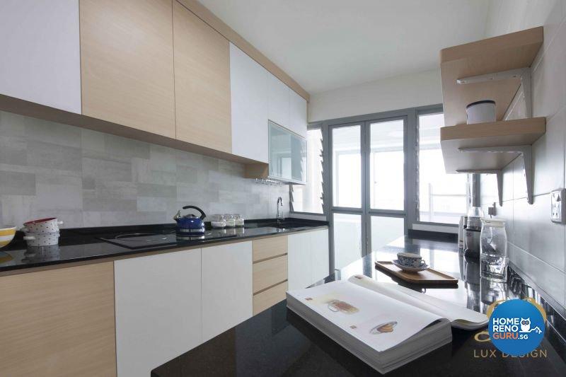 Contemporary, Scandinavian Design - Kitchen - HDB 5 Room - Design by Lux Design Pte Ltd