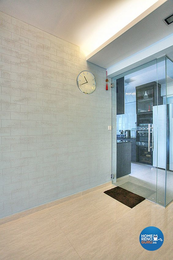 Contemporary, Country, Modern Design - Living Room - HDB 5 Room - Design by Lux Design Pte Ltd