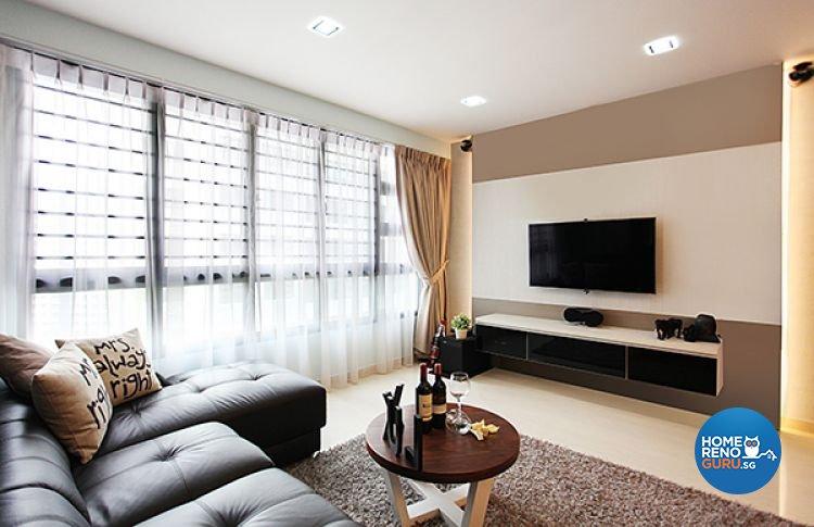 Lux Design Pte Ltd-HDB 5-Room package