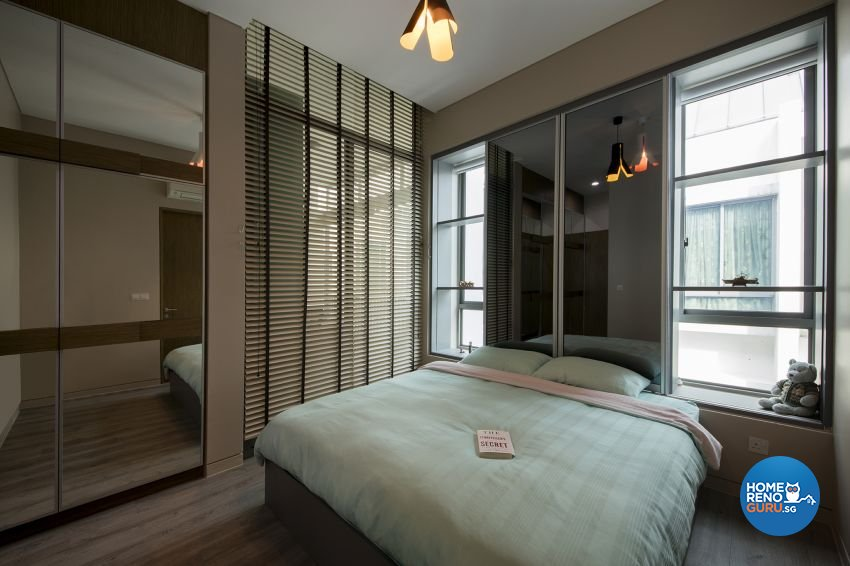 Modern Design - Bedroom - Condominium - Design by Lux Design Pte Ltd