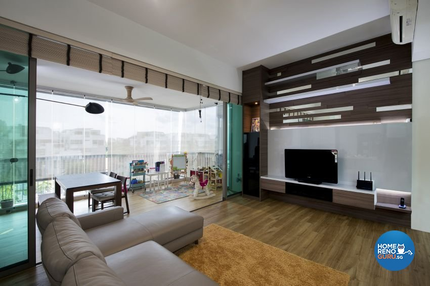 Modern Design - Living Room - Condominium - Design by Lux Design Pte Ltd