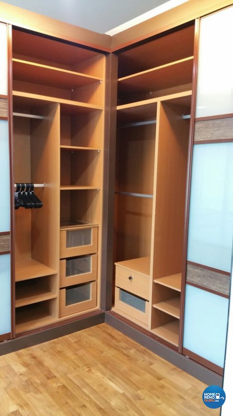 Industrial, Modern, Resort Design - Bedroom - HDB 5 Room - Design by Luxurious Design Pte Ltd