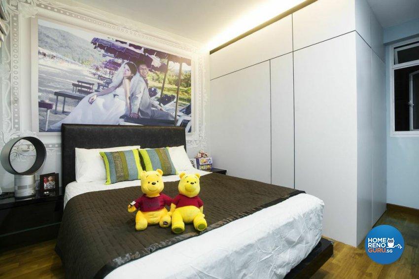 Modern Design - Bedroom - HDB 5 Room - Design by Luxurious Design Pte Ltd