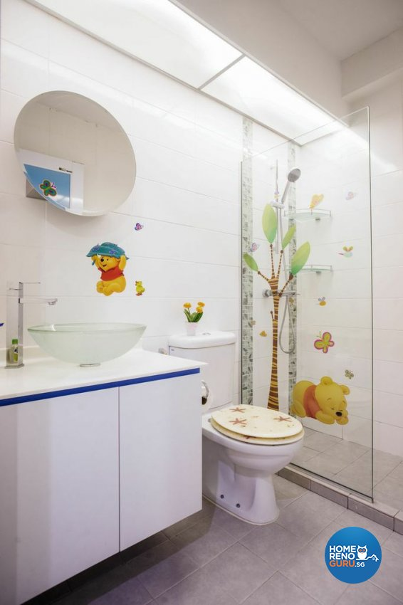 Modern Design - Bathroom - HDB 5 Room - Design by Luxurious Design Pte Ltd