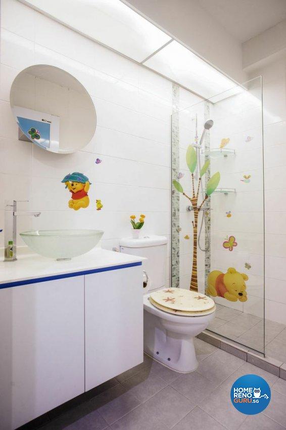 Modern Design - Bathroom - HDB 5 Room - Design by Luxurious Design Pte Ltd