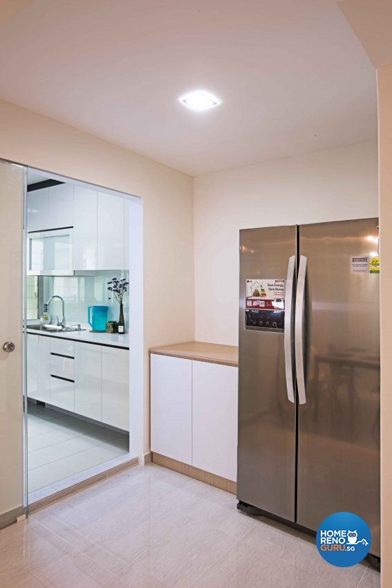 Modern Design - Kitchen - HDB 5 Room - Design by Luxurious Design Pte Ltd