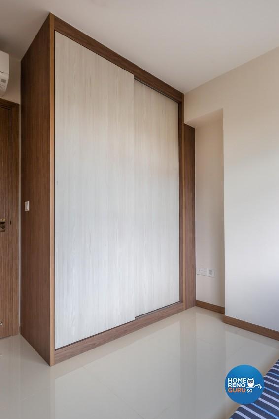 Vintage Design - Bedroom - HDB 3 Room - Design by Luxurious Design Pte Ltd