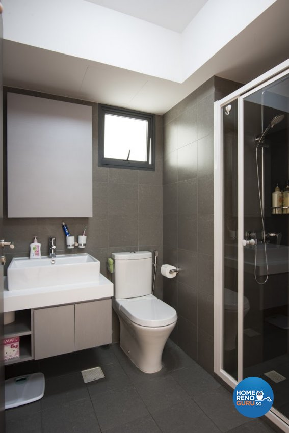 Modern Design - Bathroom - HDB 4 Room - Design by Luxurious Design Pte Ltd